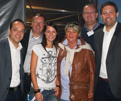 Gudrun Pieper unterwegs - Beim HitRadio Antenne Open-Air im Heide Park in Soltau
